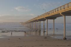 Ocean Beach Pier - stock photo