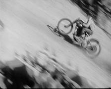 1920 - Oakland Motorcycle Race 03 Stock Footage