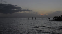 Key West after Sunset - stock footage