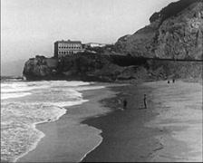1922 - San Francisco Beach 01 Stock Footage