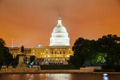 United states capitol building in washington, dc Stock Photos