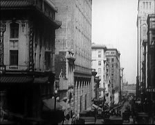 1922 - San Francisco Buildings 05 Stock Footage