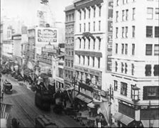 1922 - San Francisco Buildings 06 Stock Footage