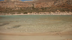 Balos Beach, Crete, Greece Stock Footage
