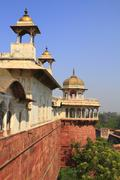 The agra fort Stock Photos