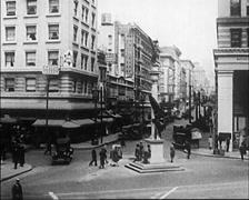 1922 - San Francisco Street Scenes 03 Stock Footage