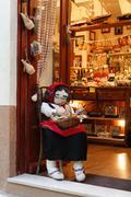 Stock Photo of shop in rab town on rab island, croatia