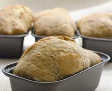 artisanal bread making - stock photo