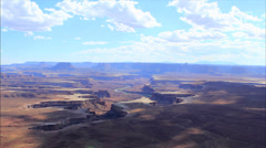 Canyonlands valley time lapse 2 Stock Footage