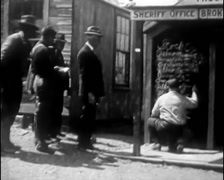 1927 - Gold Rush Nevada 02 - stock footage