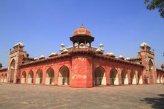 The tomb of akbar the great Stock Photos