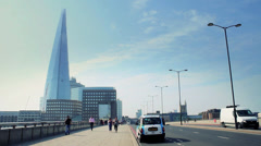 The Shard, London - Europe's Tallest Building Stock Footage