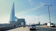 Stock Video Footage of The Shard, London - Europe's Tallest Building