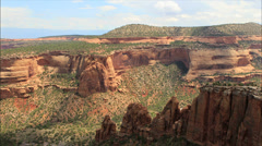 Colorado National Monument time lapse 2 Stock Footage