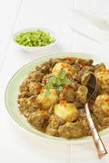 Beef rendang. this is a westernised version of rendang, made with stewing ste Stock Photos