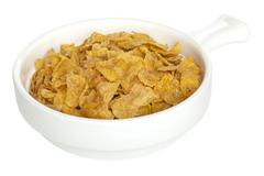 Cornflakes cut out Stock Photos