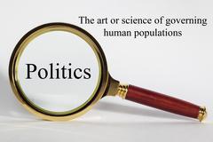 politics concept - stock illustration