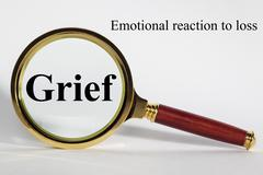 Grief concept Stock Illustration