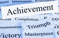 Achievement concept Stock Illustration