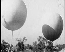1929 - USA - International Balloon Race 01 Stock Footage