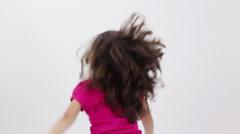Model-Kid resentful-clip2 Stock Footage