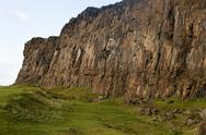 Stock Photo of salisbury crags detail