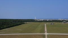 Wright Brothers Air field - Kill Devil Hills Stock Footage