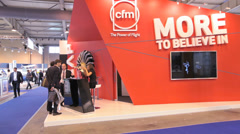 CFM company Stock Footage