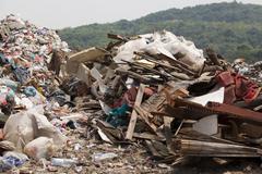 Garbage dump Kuvituskuvat
