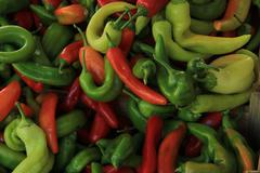 jalapeno peppers - stock photo