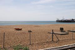 Stock Photo of brighton beach. east sussex. england