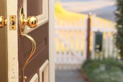 Stock Photo of Front Door