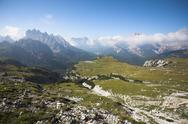 Stock Photo of Italian Dolomites landscape