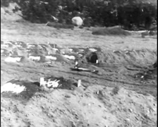 1913 - Dawson Mine Disaster 02 - Graves Stock Footage