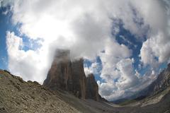 Italian Dolomites landscape Stock Photos