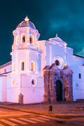 iglesia de santo domingo, popayan, colombia - stock photo