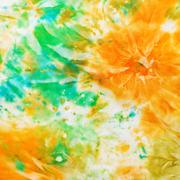 abstract pattern of cold painted batik - stock photo