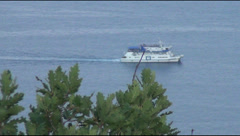 Gurzuf, Crimea, sea Stock Footage