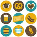 Stock Illustration of oktoberfest icons collection