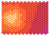 Stock Illustration of abstract hexagons