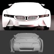 3d model of BMW Vision