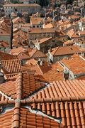 Stock Photo of dubrovnik old town, unesco world heritage site, croatia