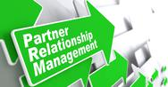Stock Illustration of Partner Relationship Management. Business Concept.