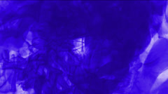 Purple explosion smoke & ink. Stock Footage