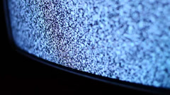TV Noise Detail - stock footage