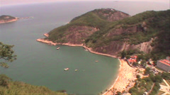 0118-Rio-Brazil-Sugarloaf-Location-Ipanema-Copacabana-Tourism-Travel-Landscap - stock footage