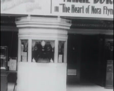 1916 - Cinema Entrance 01 Stock Footage