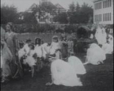 1916 - San Mateo Harvest Festival 01 Stock Footage