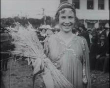 1916 - San Mateo Harvest Festival 04 - stock footage