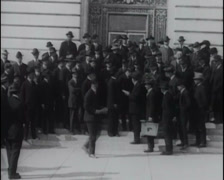 1917 - Mayor James San Francisco 01 Stock Footage